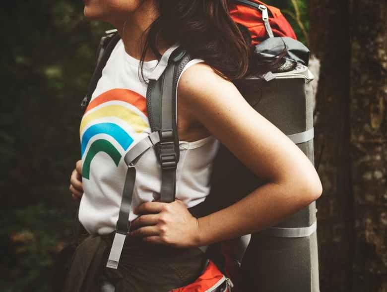 lady hiker